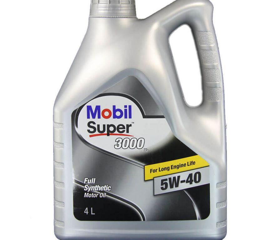 MOBIL SUPER 3000 X 2 5W40